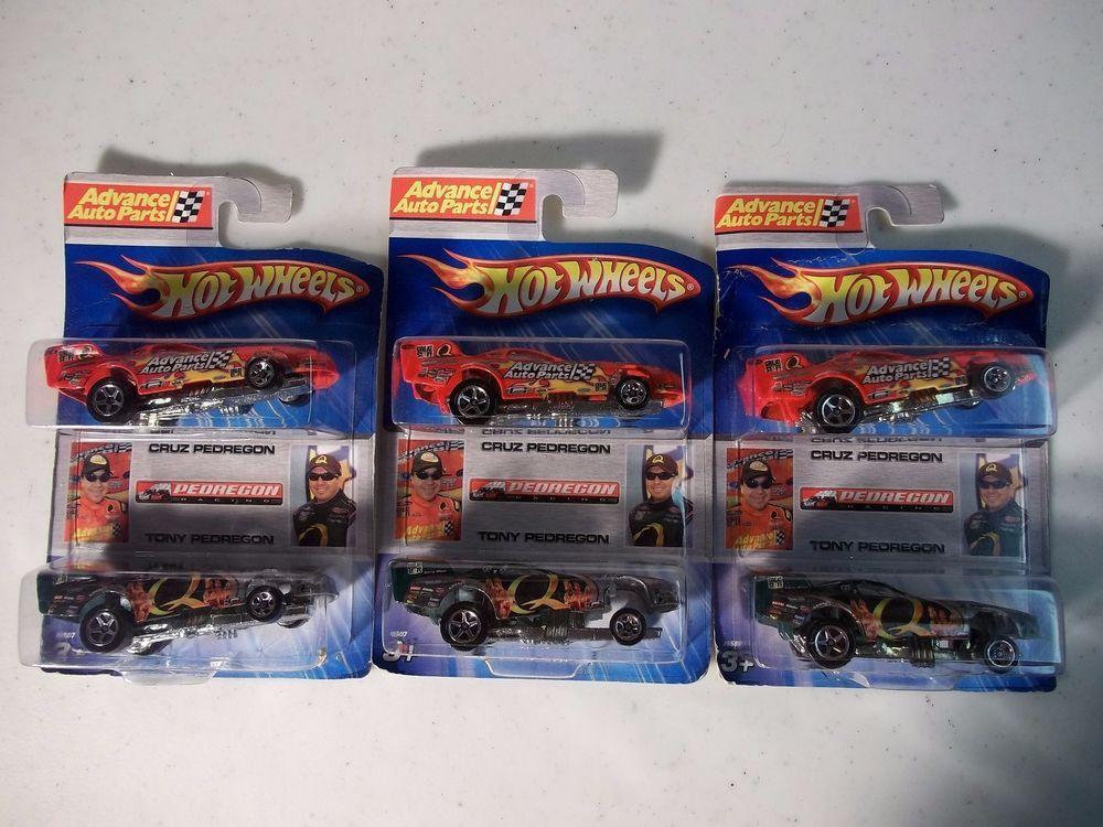 2006 Hot Wheels Tony & Cruz Pedregon Drag Race Cars