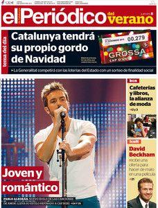 La portada de verano del 08-08-2013
