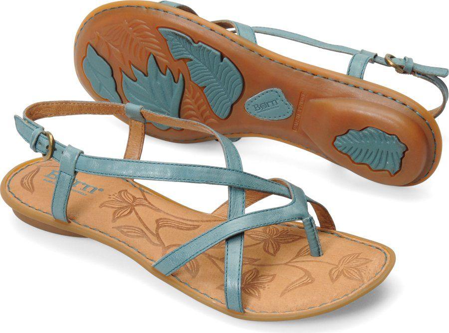 717e418a120a Born Womens Mai in Turquoise on bornshoes.com