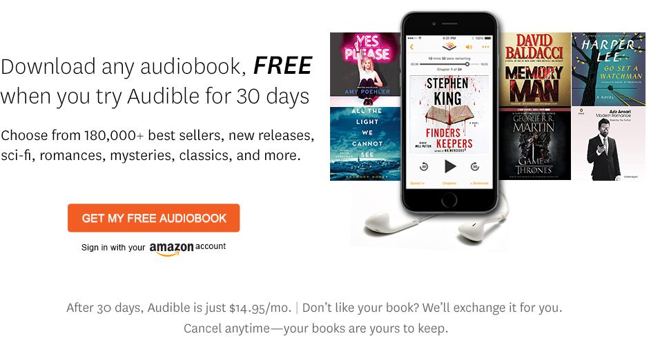 Get My Free Audiobook