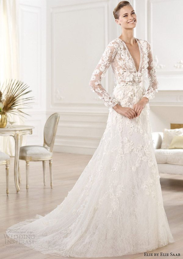 Elie by Elie Saab Bridal 2014 Collection for Pronovias | Pinterest ...