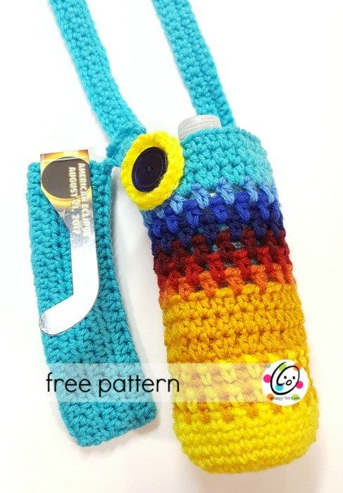 New free snappy pattern are you one of the millions that get to eclipse bottle holder pattern by heidi yates dt1010fo