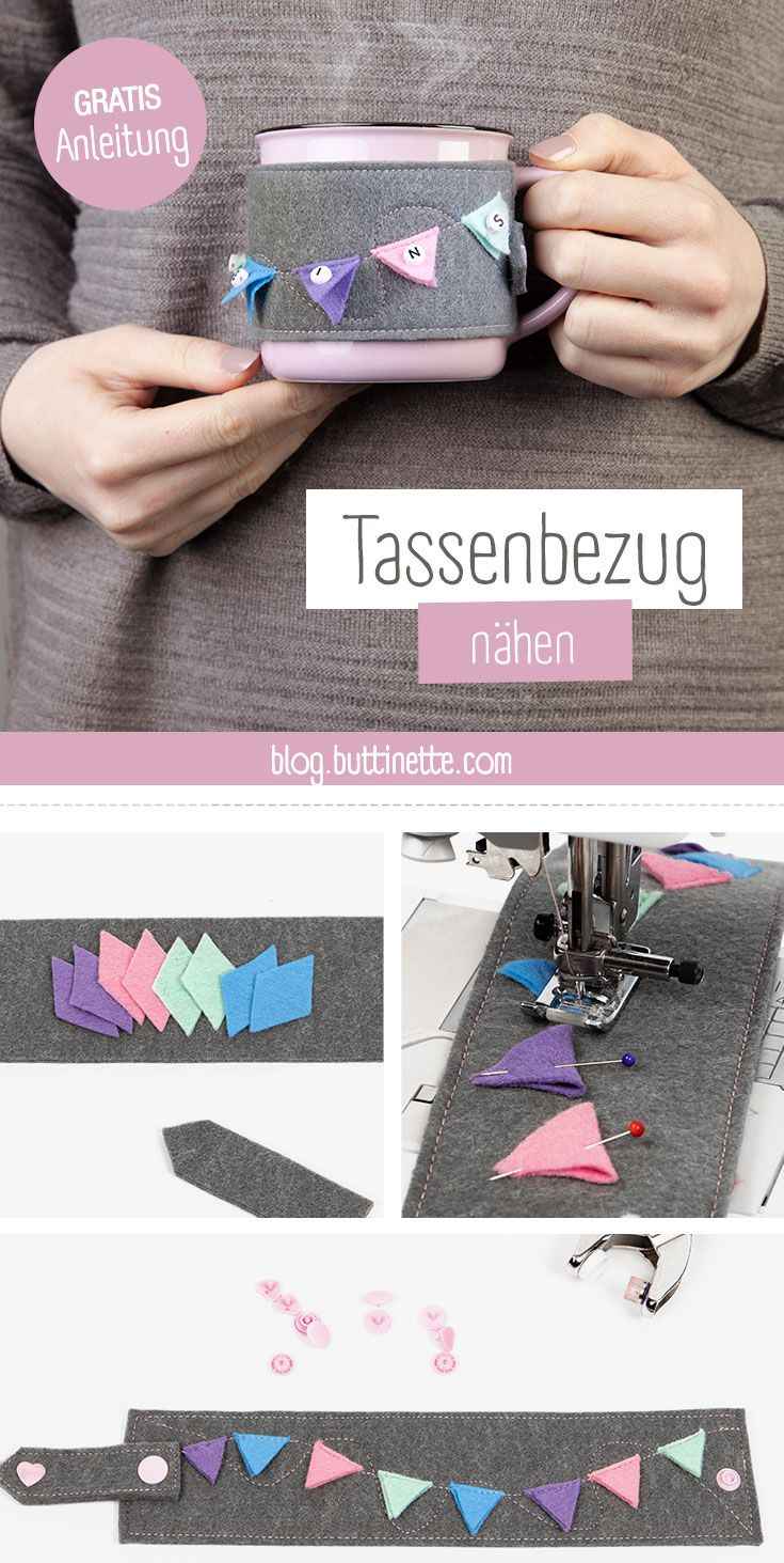 Tassenbezug nähen #sewingprojects