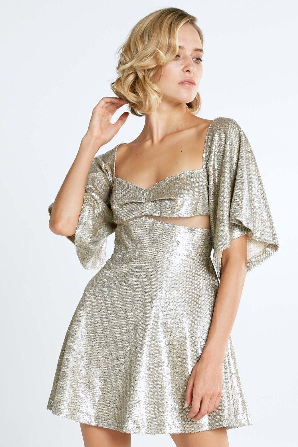 a99f6d6a797e Farrah Silver Sequin Mini Dress | Clothes 2 | Pinterest | Dresses ...