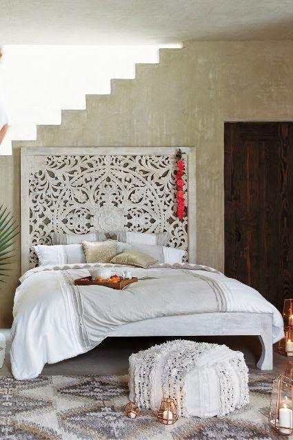 Boho Chic: Beds | Huis en tuin | Pinterest | Chambres, Chambre ...