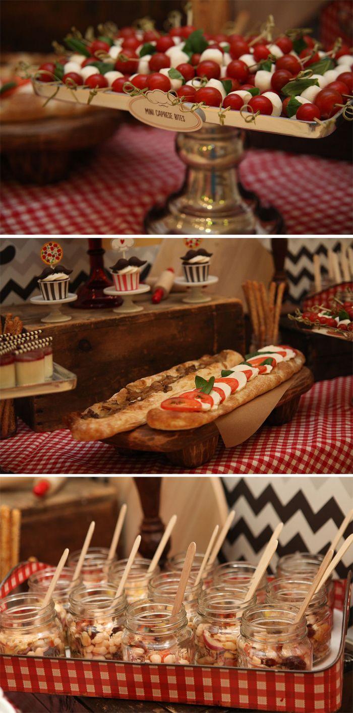 italiaans dessert buffet