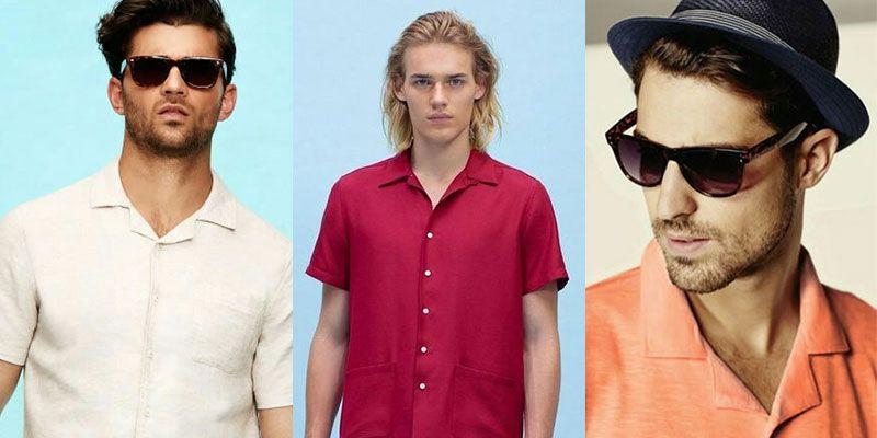 men's cuban collar cabana shirts