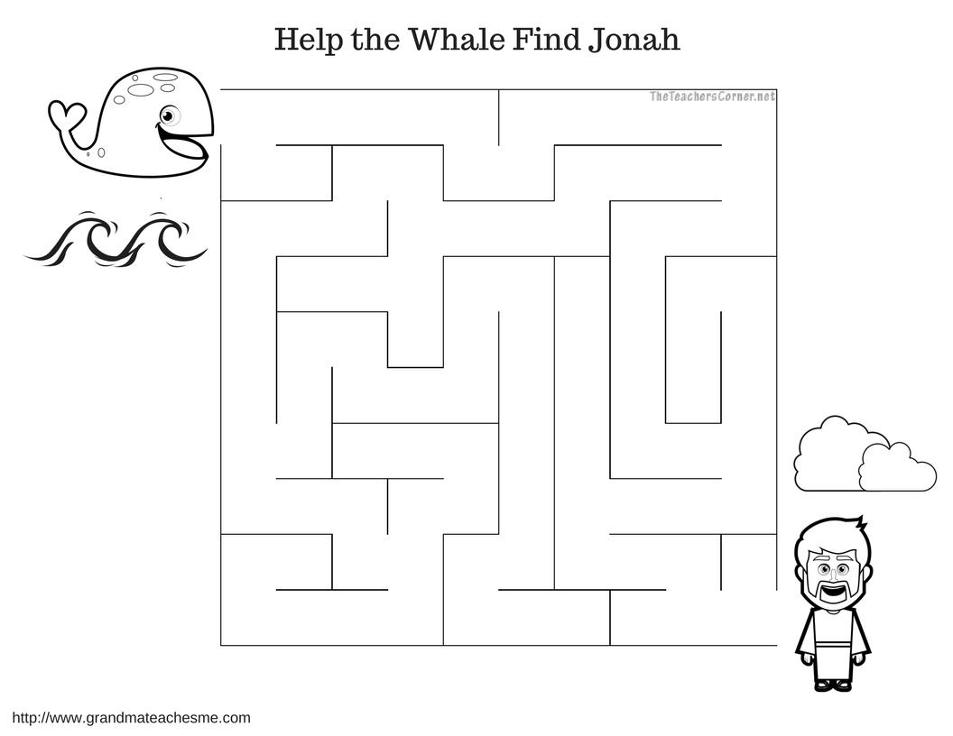 Jonah Amp The Whale Maze