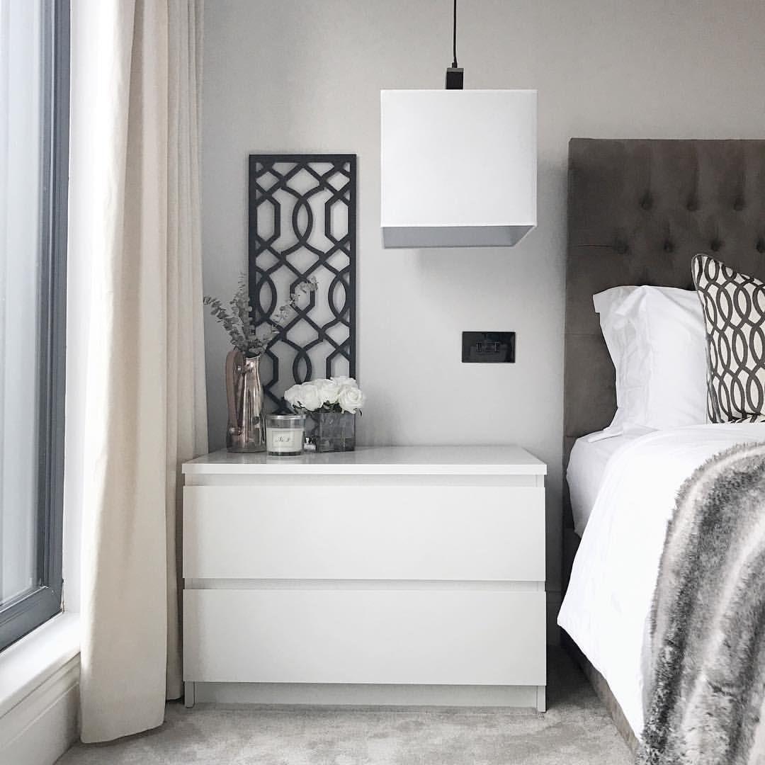 Bedroom Inspo Design Interior Design Dulux Rock Salt Black Carved Panel Trellis Screen With En Bedroom Night Stands Bedroom Interior Bedside Table Scandinavian