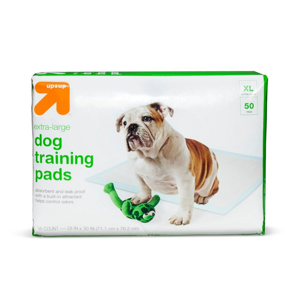 Puppy And Adult Dog Training Pads Xl 25ct Up Up Products