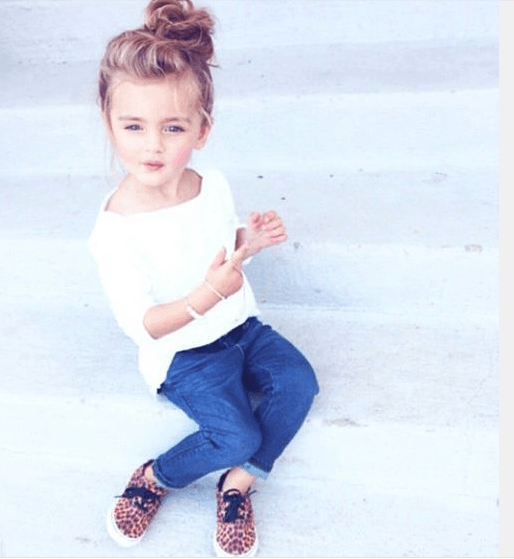Kid Haircuts With Outfit: Awesome Hairstyles For Little Girls