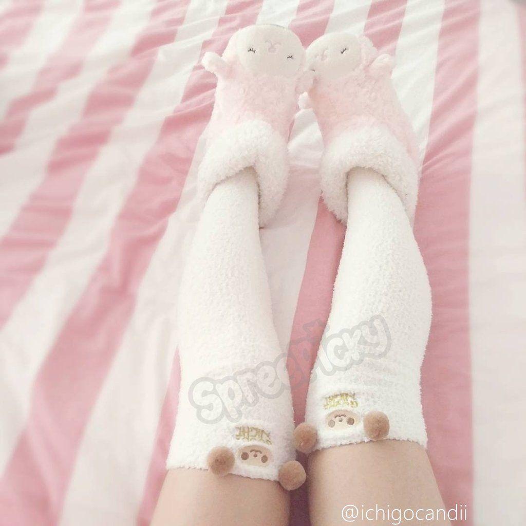 722d9a4d8 Cutie Animal Fleece Thigh High Long Socks SP154247 - SpreePicky - 12