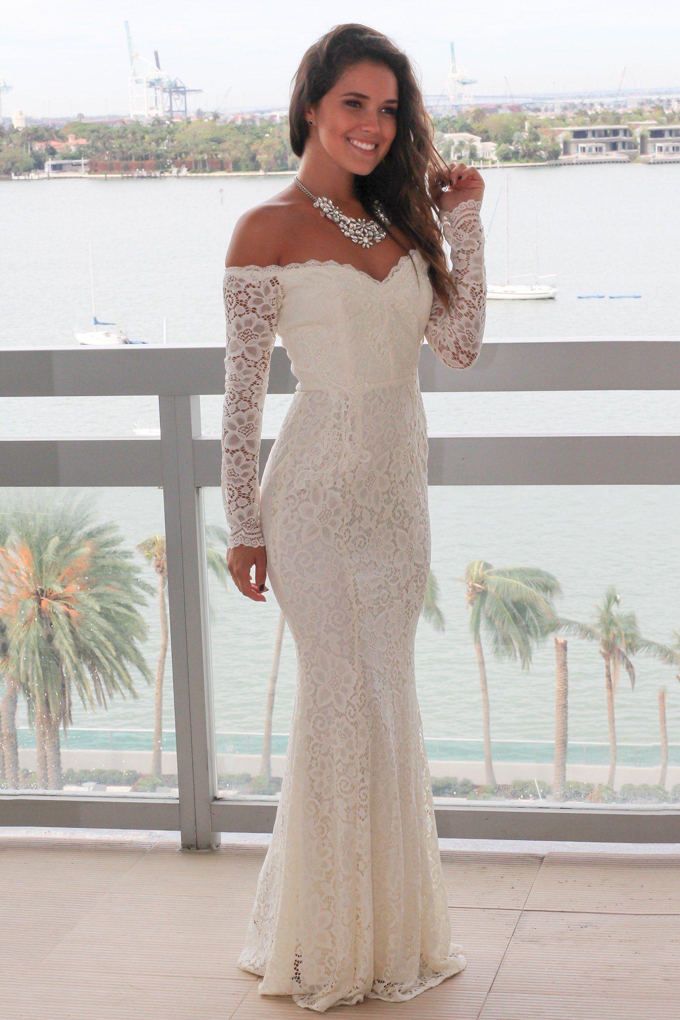 Beige crochet off shoulder maxi dress maxi dresses beige and shoulder