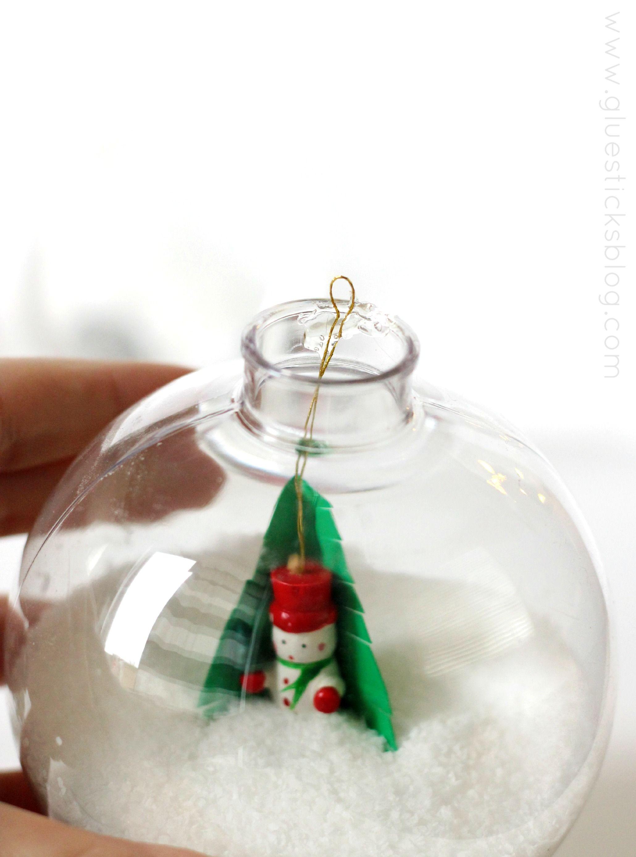 DIY Winter Wonderland Ornament