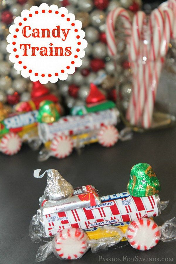 Lifesaver Candy Trains For Kids Christmas Candy Crafts Christmas Crafts Homemade Christmas