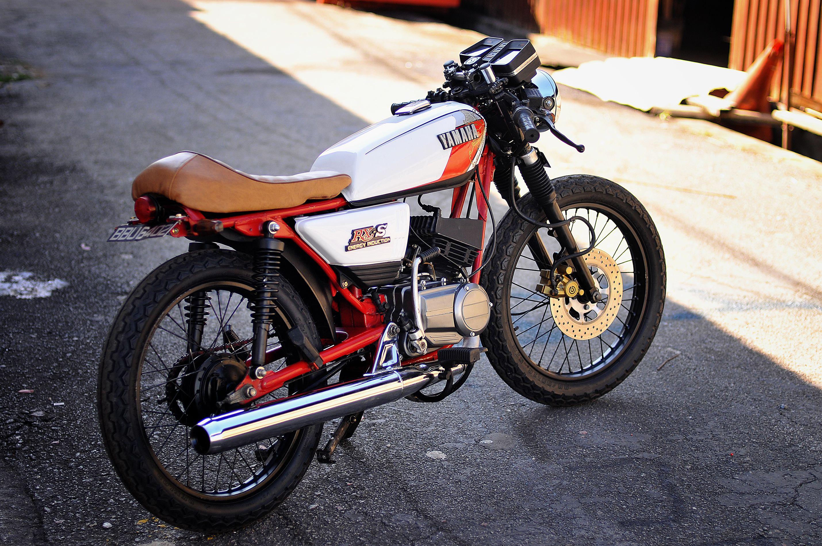 Yamaha Rxs 115 1983 Caferacer Mode Transfomation Rosli Anok
