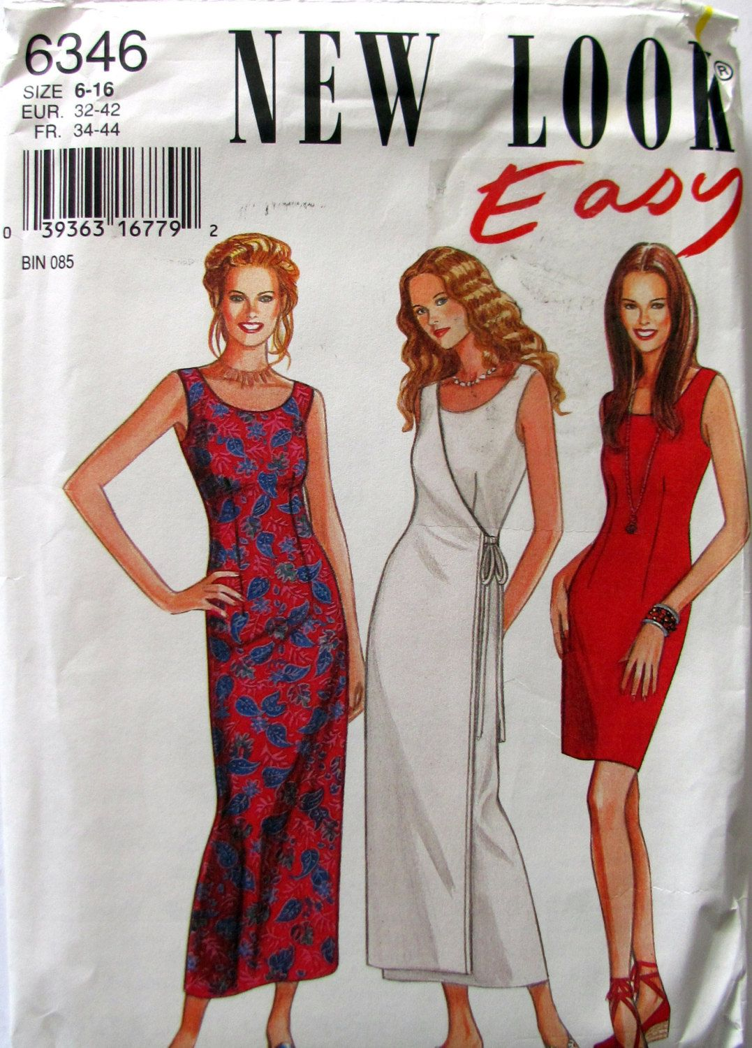 New look above ankle wrap dress fitted bodice and long or
