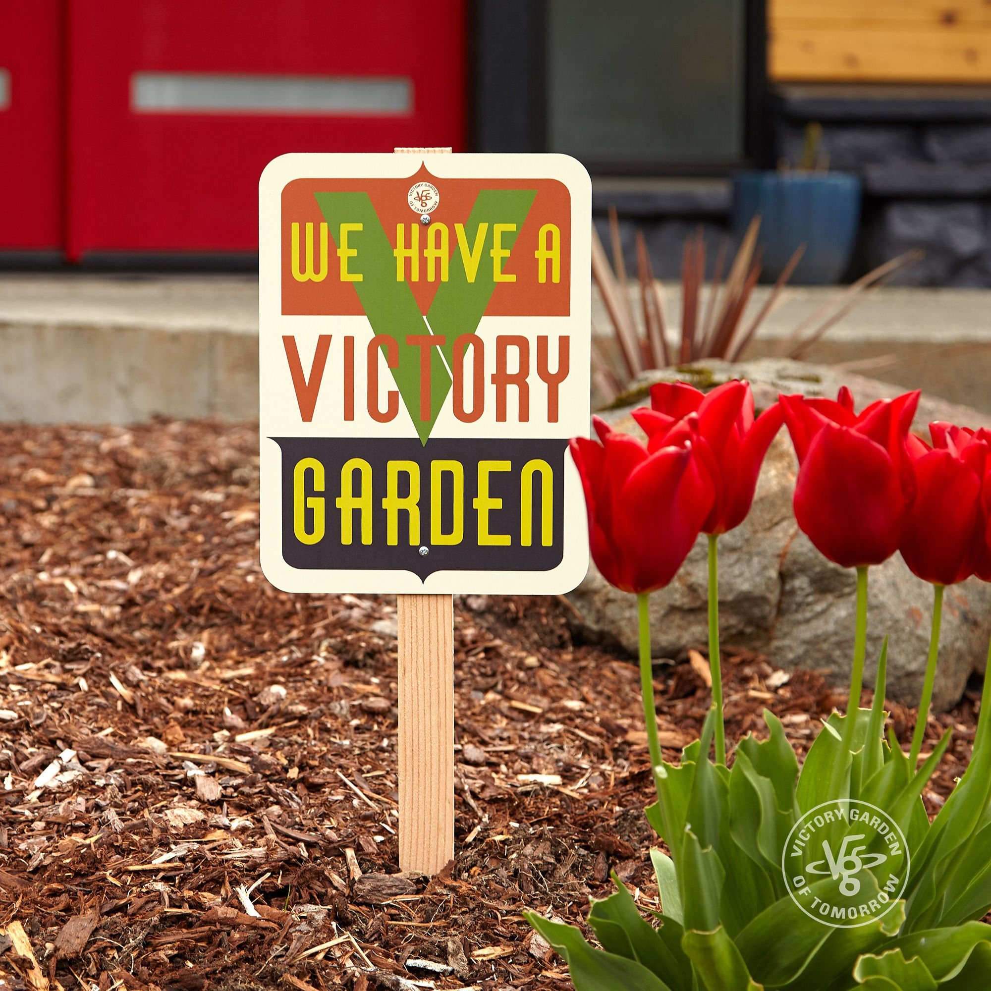 We Have a Victory Garden - sign — The Victory Garden of Tomorrow