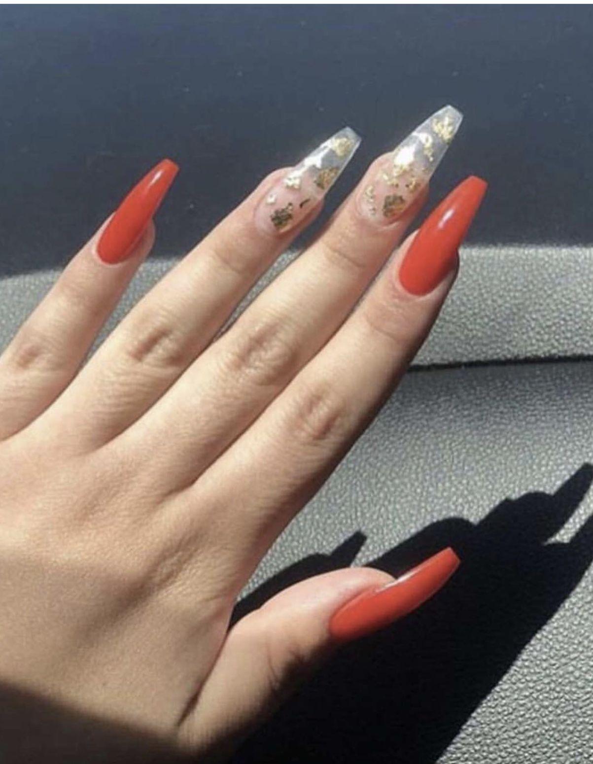 Pin by 𝖅𝖎𝖆𝖓𝖓𝖆🥰 on •|nail inspo | Halloween acrylic nails ...