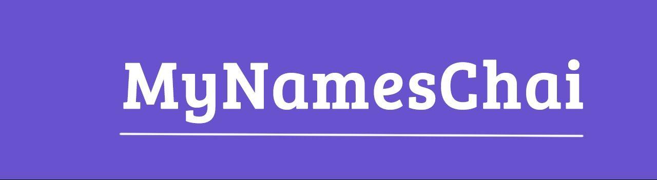 MyNamesChai - YouTube   My Name Is Chai   Youtube, Youtube ...