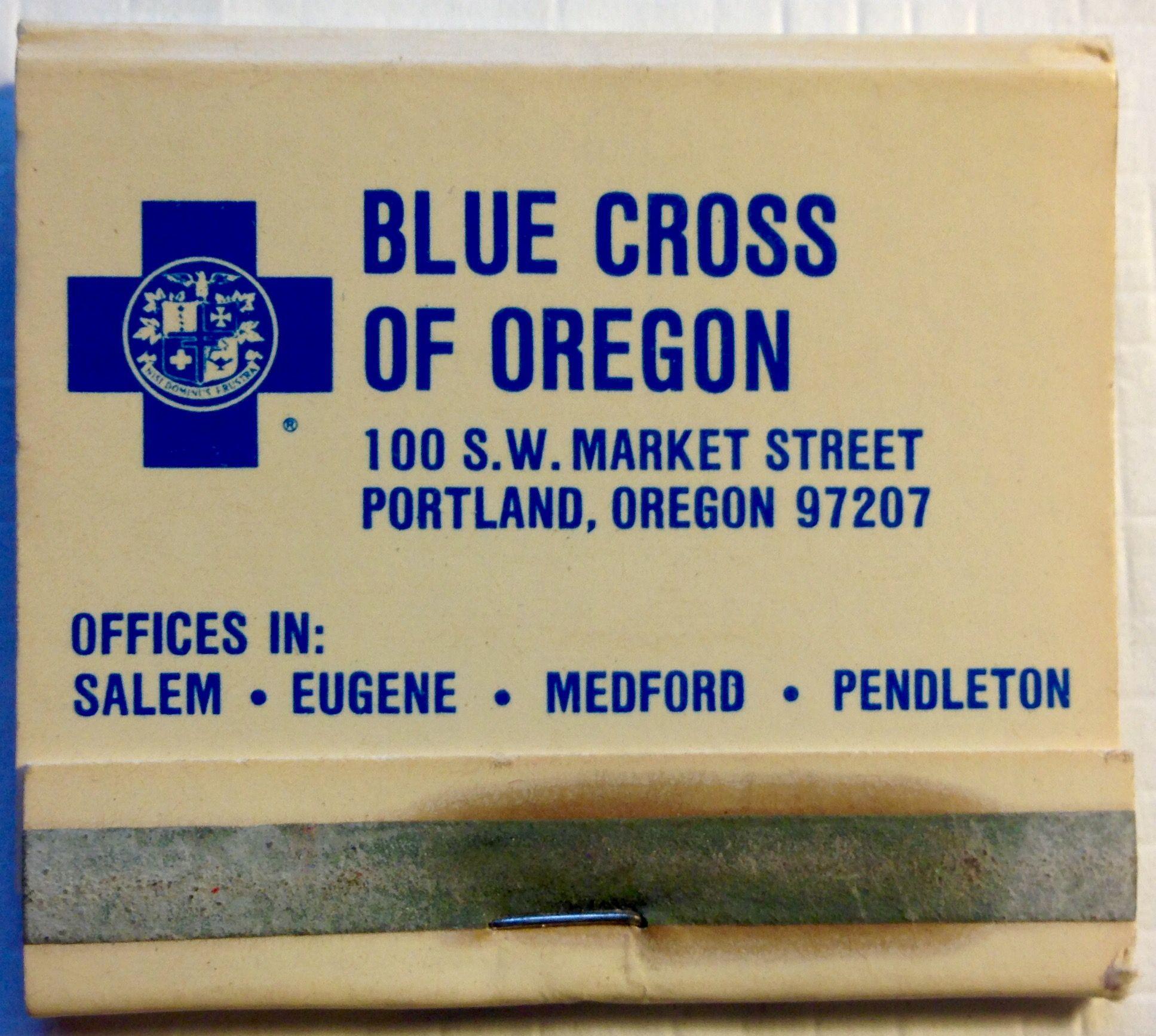 Blue Cross Frontstriker Matchbook To Design Order Your