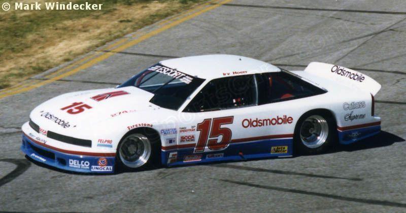 Irv Hoerr - Oldsmobile Cutlass - Hoerr Racing - WMMS-FM Trans-Am Weekend Cleveland - 1988 SCCA Escort Trans-Am Championship, round 6 - © Mark Windecker