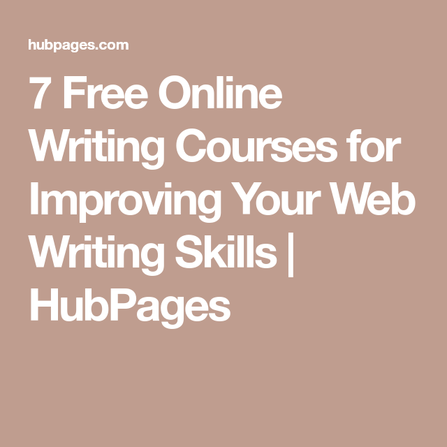 online writing courses for improving your web writing  7 online writing courses for improving your web writing skills