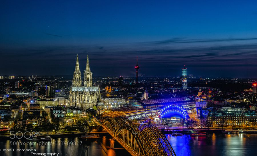 evening in Cologne by hermannshans #architecture #building #architexture #city #buildings #skyscraper #urban #design #minimal #cities #town #street #art #arts #architecturelovers #abstract #photooftheday #amazing #picoftheday