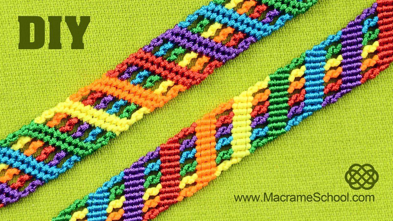 colorful rainbow bracelet tutorial arkadaslik. Black Bedroom Furniture Sets. Home Design Ideas