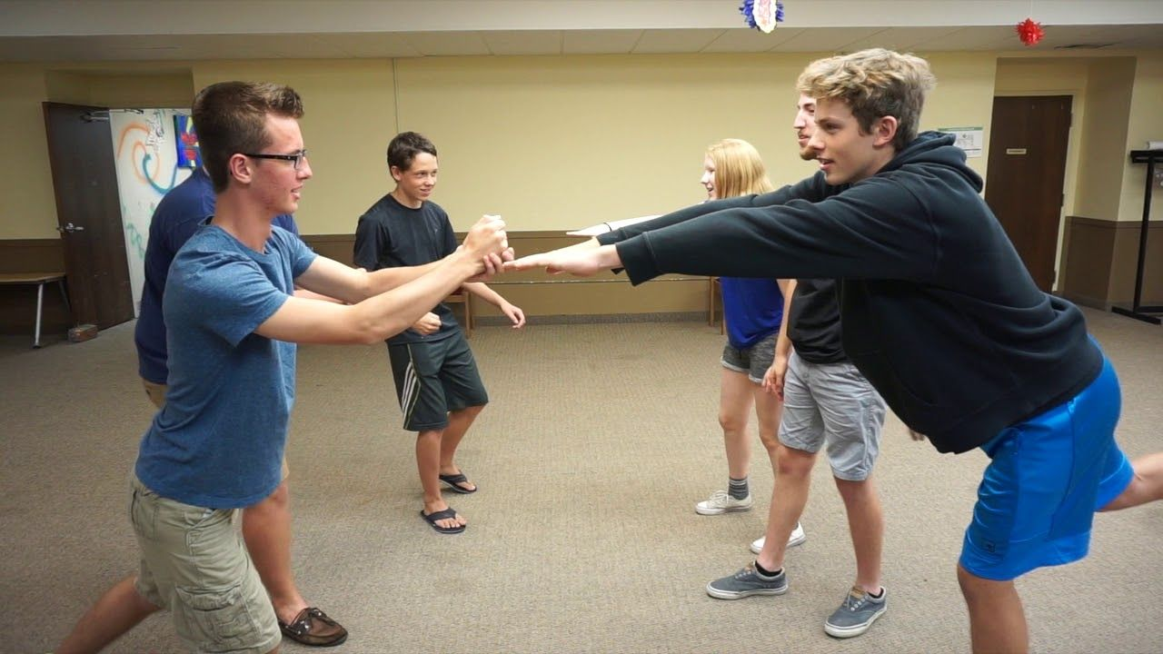 Rock, Paper, Scissors Tag YouTube Youth group games