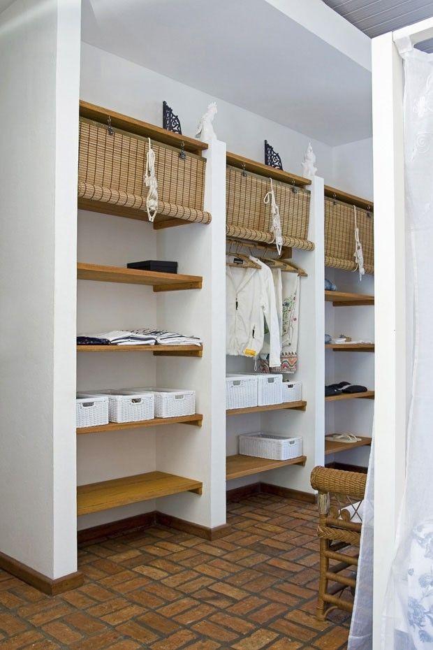 armario em alvenaria Pisos modernos Pinterest Suelos, Terrazas