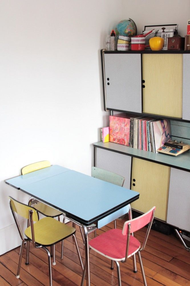 Bienvenue Chez Berangere Responsable Com D Etsy Interieur Vintage Deco Maison Meuble Formica