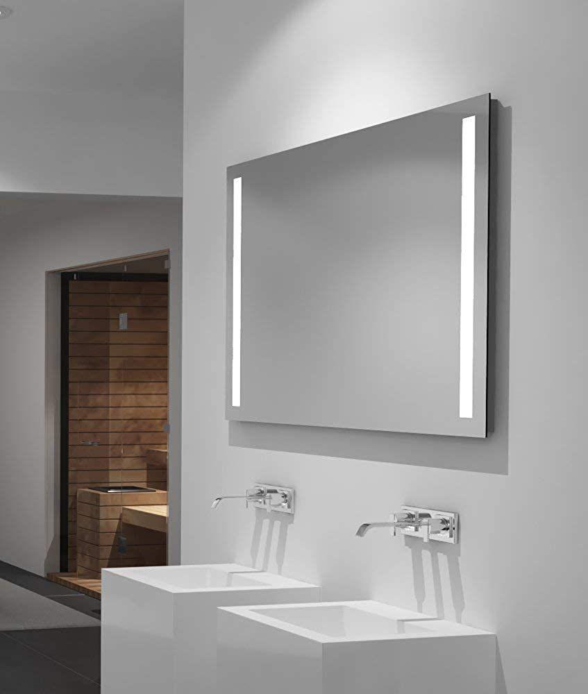 Led Badspiegel Talos Light 100x 70 Cm Lichtfarbe 4200k Modernes
