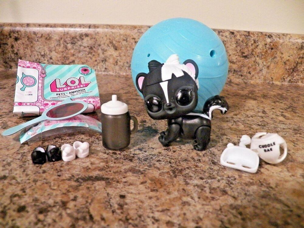 LOL Surprise Pets Doll Animals Le Skunk Bebe Eye Spy Girl Gift