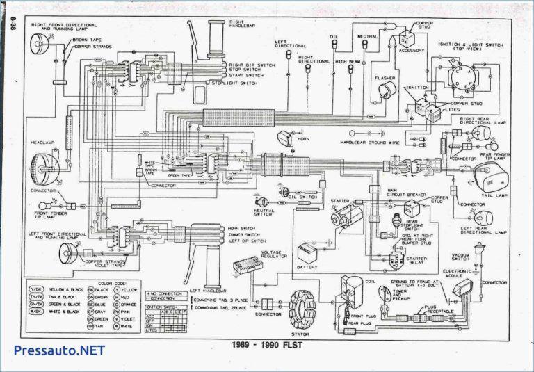 2007 Harley Softail Ke Wiring Diagram In 2020