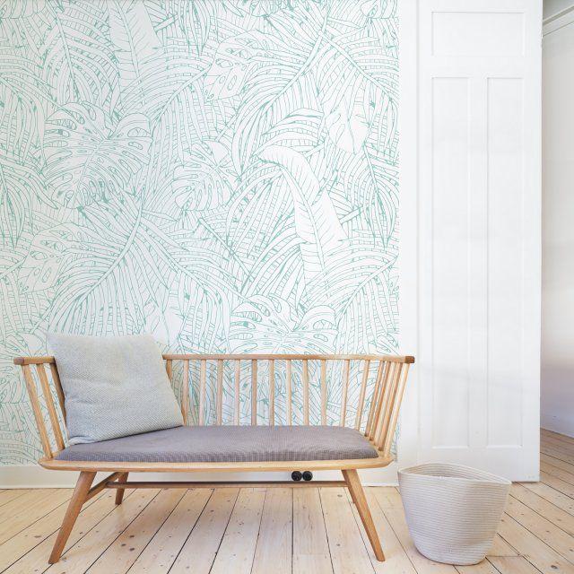 Papier peint tropical : notre sélection pour une déco exotique ...