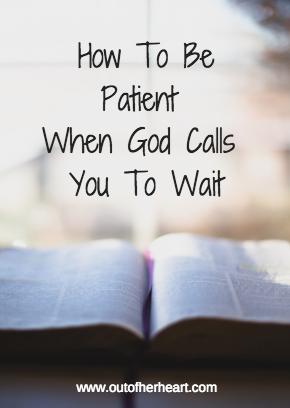 god waiting on you scripture