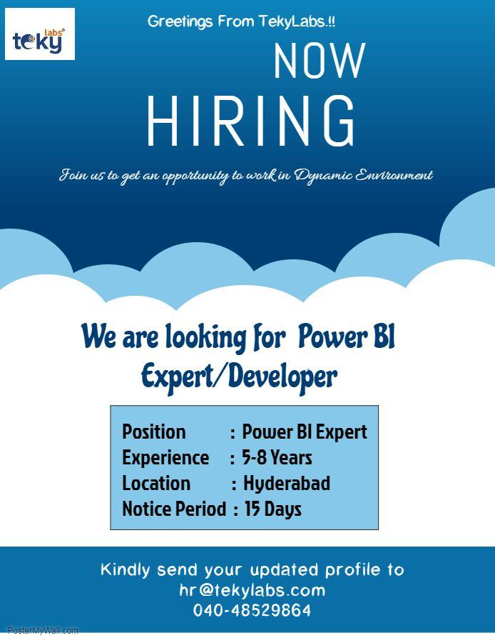 Power Bi Jobs - photo editor job description