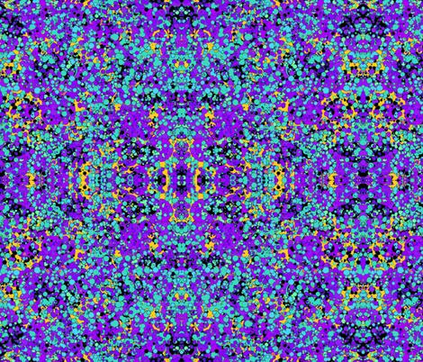 FIZZ BUBBLES BLUE OCEAN GARDEN GEOMETRIC fabric by paysmage on Spoonflower…