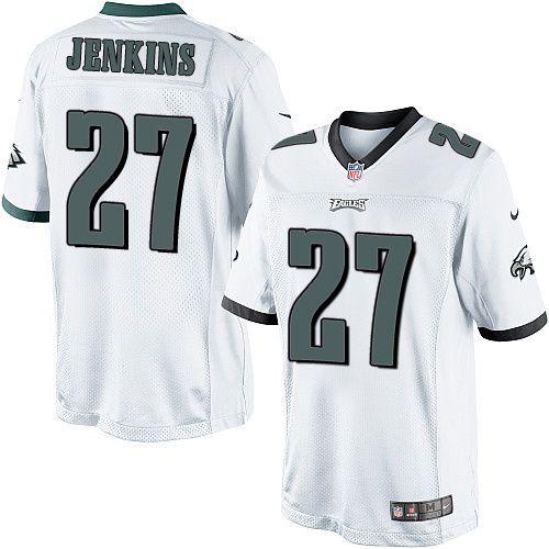 NFL Cheap Philadelphia Eagles #27 Malcolm Jenkins White Youth Game ...