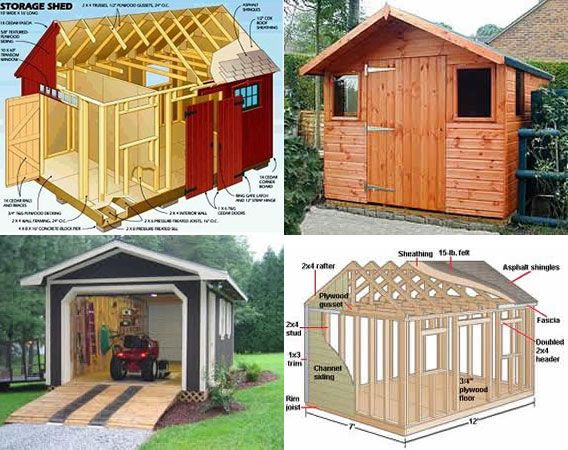 Perfect 10x12 Shed Designs
