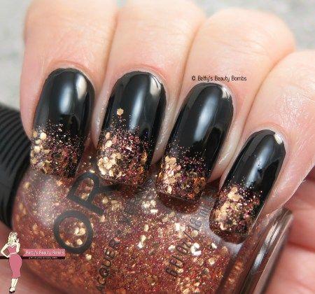 Glitter Gradient Nail Art Nails Pinterest Glitter Gradient