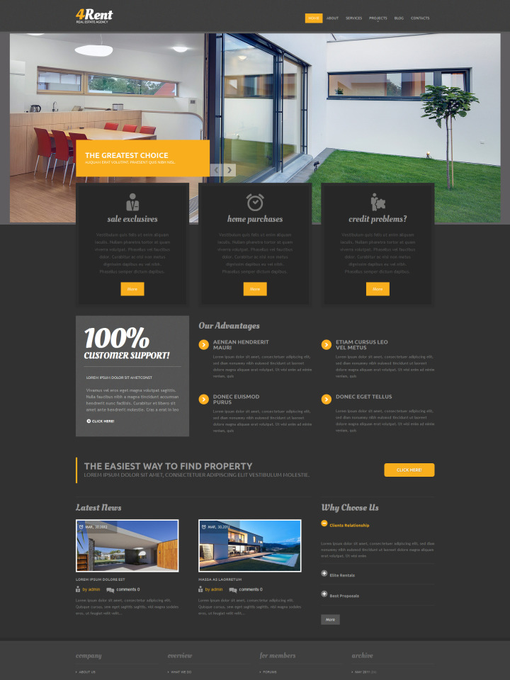 Real Estate Website Templates In 2020 Real Estate Website Templates Website Template Real Estate