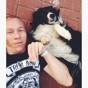 Selfie with your dog on Instagram. | Dogs On Instagram Vs. Dogs In Reality