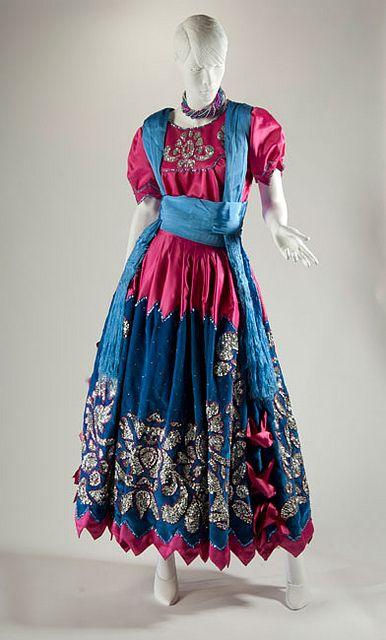 China Poblana Dress, 2000, Manufactured by Sra. Amelia Rosa Capistrán Peredo. Courtesy of Alejandra Fernández Capistrán. Photo © 33PHOTO and Arte en la Charrería. by International Arts & Artists, via Flickr