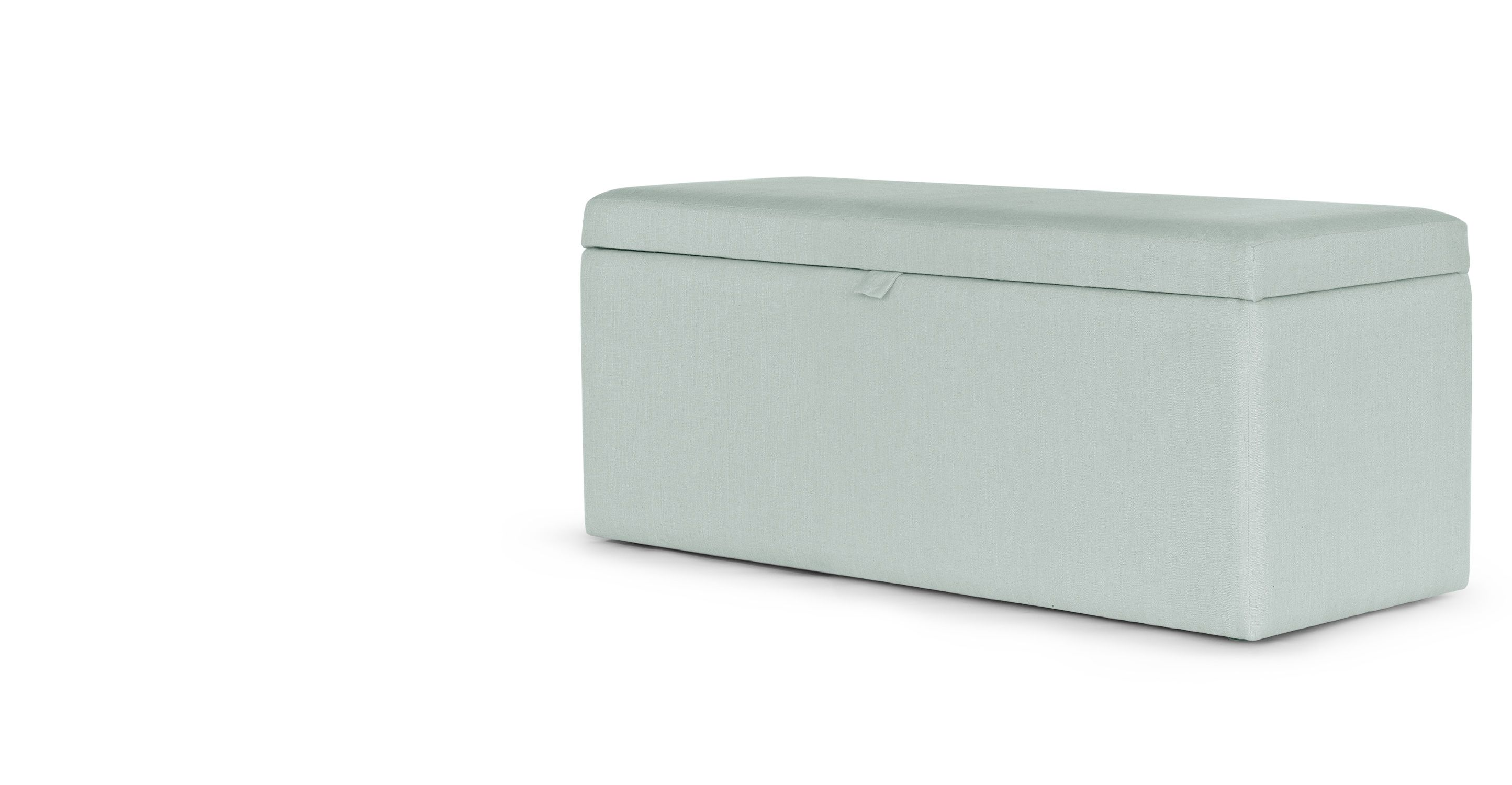 Gepolsterte Sitzbank Mit Stauraum Capri Upholstered Storage Bench Cambridge Blue For The Home
