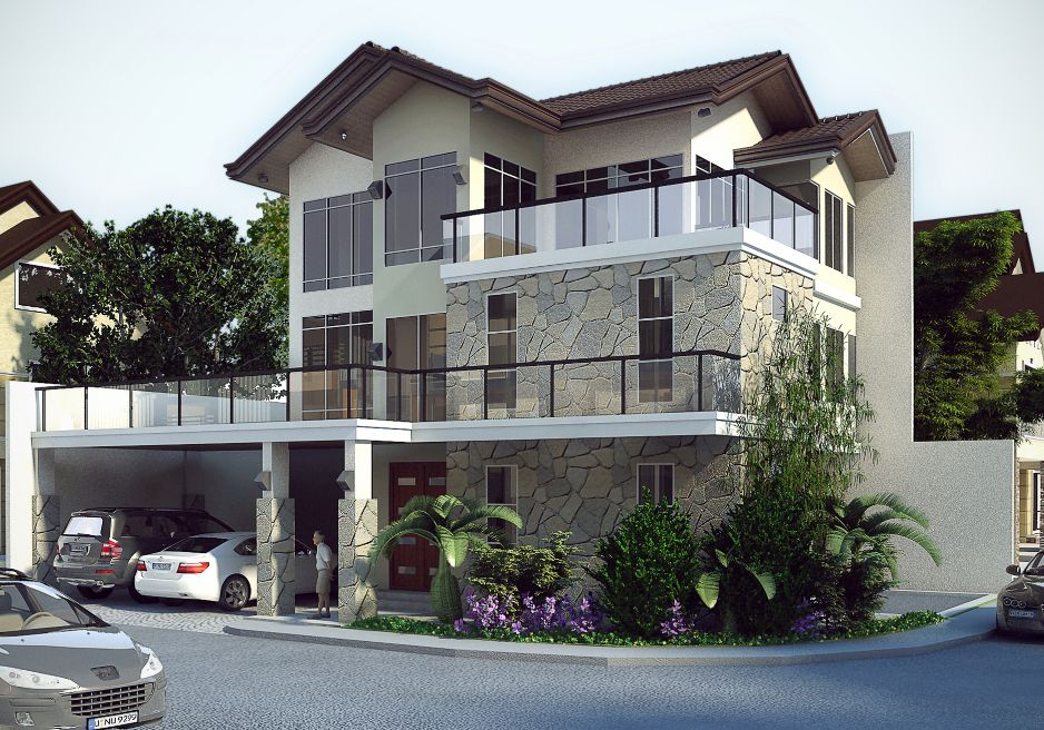 Real estate in metro manila philippines architecture for Minimalist home designs philippines