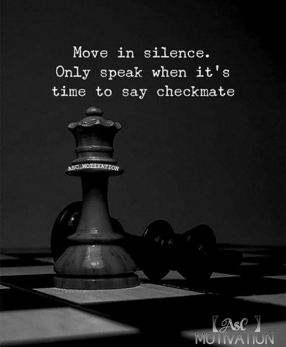 Making Moves In Silence Quotes : making, moves, silence, quotes, Never, Announce, Moves, Before, Making, Them., #silence, #speak, #checkmate, #announc…, Quotes, Inspirational, Positive,, Inspiring, About, Life,, Positive