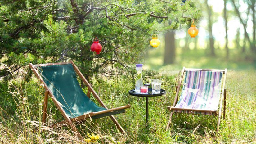 chilienne avec repose pied farniente nomade retraite. Black Bedroom Furniture Sets. Home Design Ideas