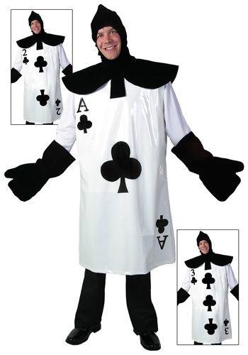 Adult Mens Poker Ace Mad Hatter Wonderland Hat Fancy Dress Fantasy Accessory